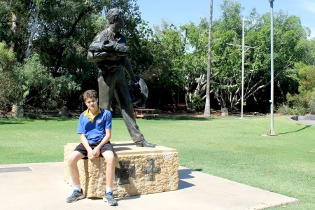 Blackall student wins Premier's Anzac Prize