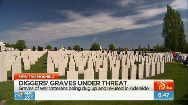 Gallipoli graves controversy