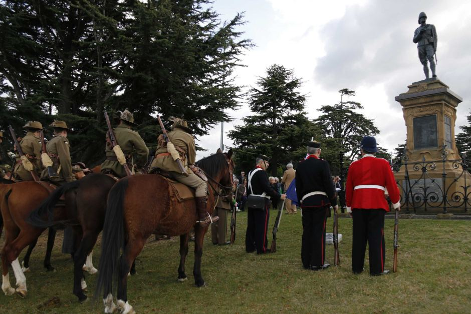 Boer War soldiers remembered in Hobart ceremony