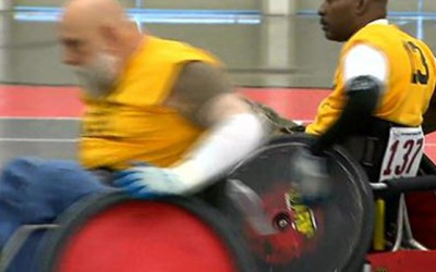 Disabled Veterans Find New Purpose In National Veteran Wheelchair Games