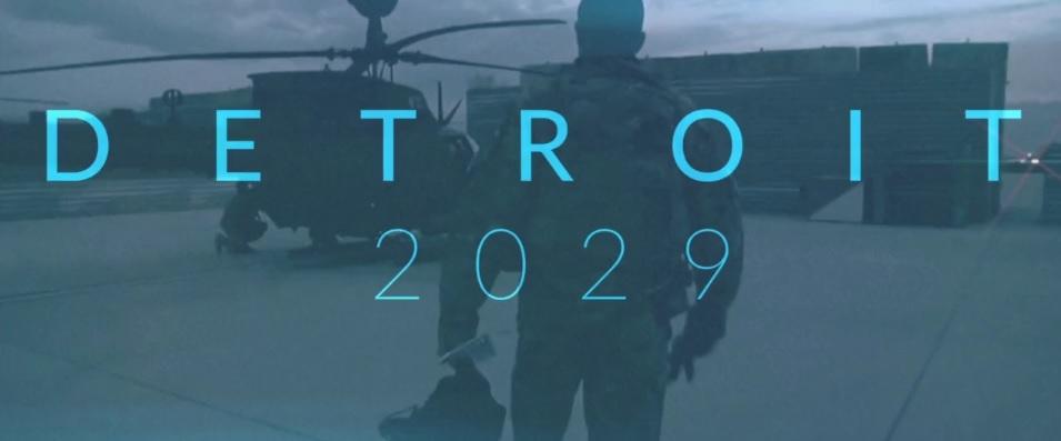 Neil Harvey's New Science Fiction Short Film 'Detroit 2029'