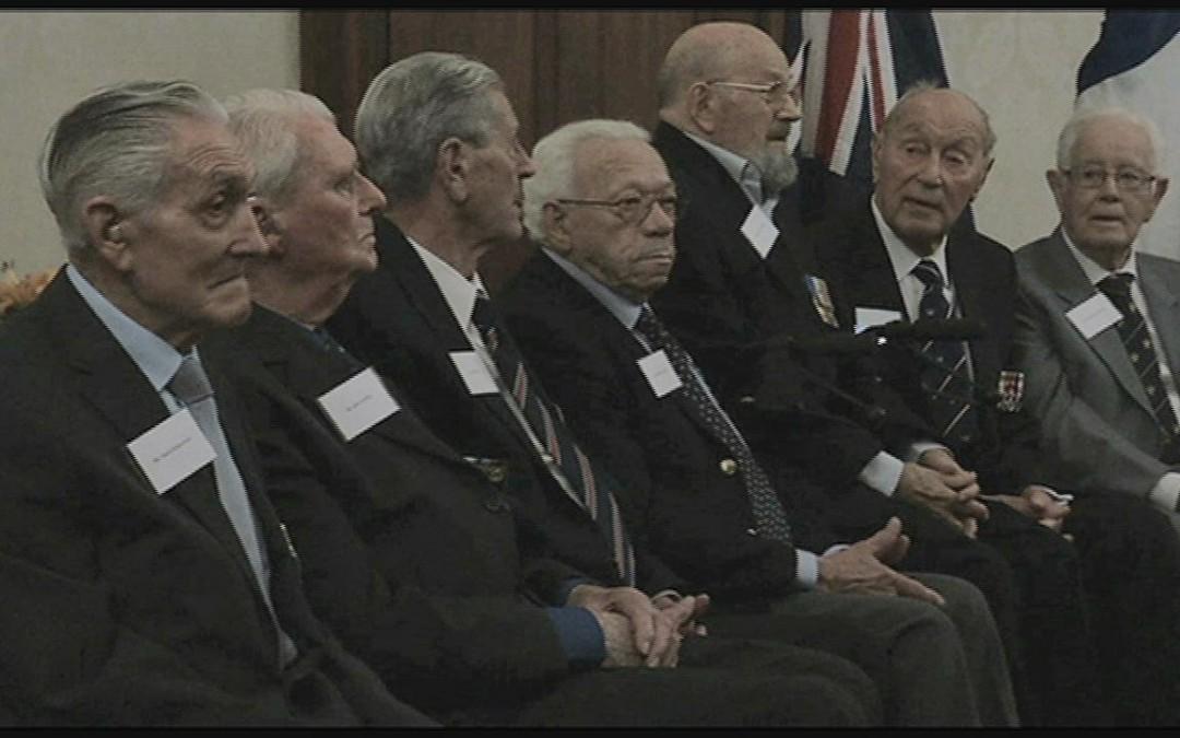 Australian veterans given French honour for WW II service